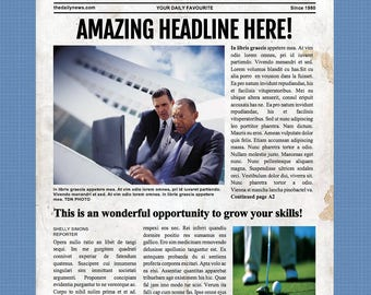 1 page 85x11 newspaper template for microsoft word 4 page microsoft word template made with free fonts pronofoot35fo Image collections