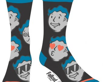 Fallout Socks (New, Free Shipping For Additional Products, 1 Pair)