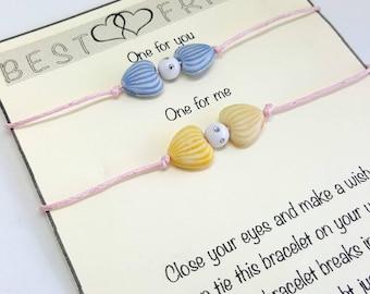 Best Friend Double Wish Bracelet