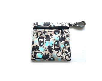 Wet Bag/ Diaper Clutch/ Makeup Bag/ Cosmetic Bag/ Toiletries/ Diaper Bag Organizer/ Gift