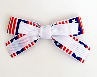 4th of July Holiday Bow