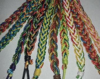 Rainbow Colors Friendship Bracelet