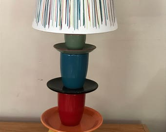Colorful Stacked Tea Lamp