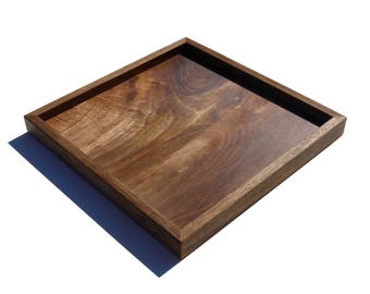 Small tray / trinket made of solid french walnut.
