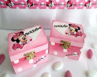 "Box dragees ""Minnie"""