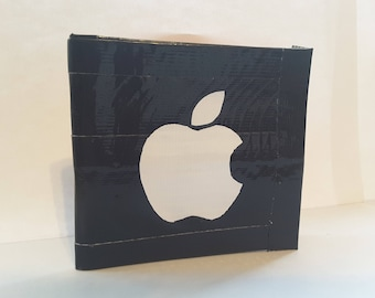 Apple Logo Duct Tape Wallet