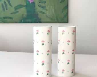 Vintage FTD Floral & Heart Vase (1)