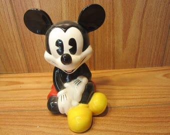 Disney Mickey Mouse Ceramic Bank