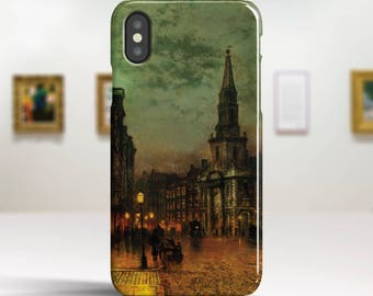 "John Grimshaw, ""Blackman Street, London"". iPhone X Case Art iPhone 8 Case iPhone 7 Plus Case and more. iPhone X TOUGH cases Art iphone cases"