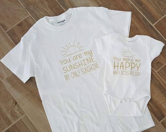 You Are My Sunshine Shirt Set