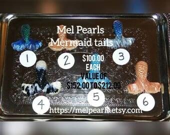 Mermaid tails pearl game