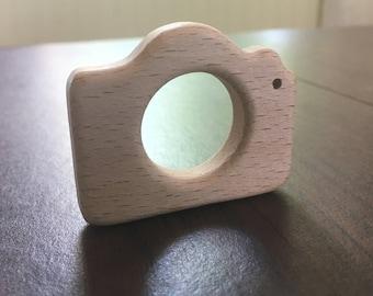 Camera Wood Teether