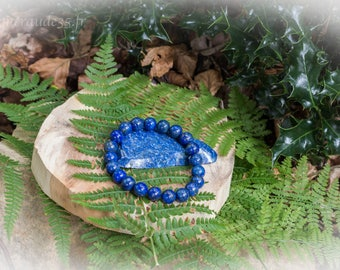 Bracelet beads 10 mm Lapis lazuli