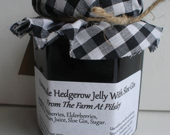 Hedgerow Jelly with Sloe Gin