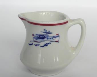 Vintage Miniature Shenango China Cream Pitcher
