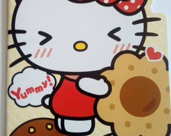 Sanrio Hello Kitty lined notebook