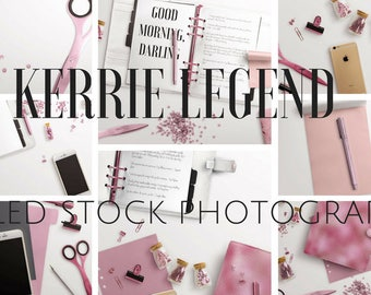 Pink Luxury Styled Stock Photography - 25 Images