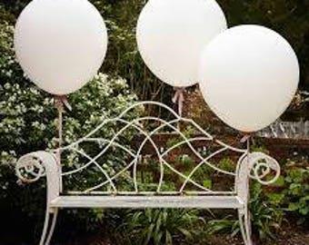 1 Pcs Ivory White Colour 27 Inch Super Large Balloons Helium Inflatable Latex Balloons Birthday Wedding Party Decor Big Ballon
