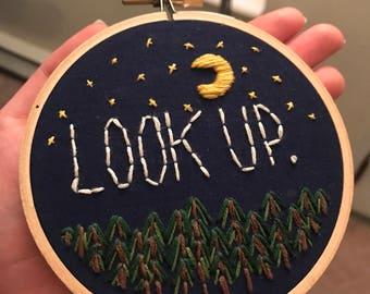 """4"""" Look Up Hoop"""