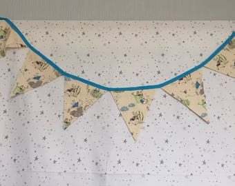Handmade Peter Rabbit and Friends Bunting