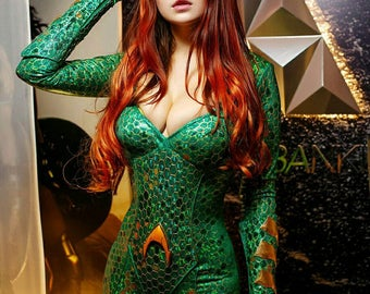 Mera cosplay costume Justice League