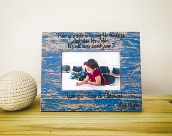 Teacher Christmas Gift Nanny Thank You Gift Babysitter Frame Personalized Picture Frame for Nanny Appreciation Gift for Teacher Coach Nanny