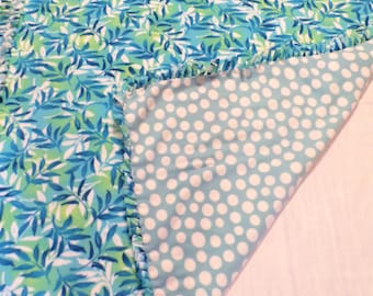 Botanical Theme Blanket