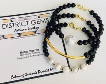 Calming Grounds Bracelet Set