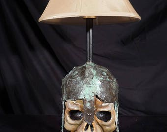 Zombie lamp skeletons mid evil fighter