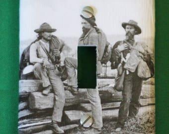 Civil War Light Switchplate Gettysburg Prisoners