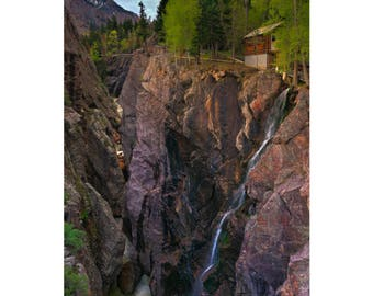 Cabin at the Edge - Colorado landscape photography by Harry Durgin