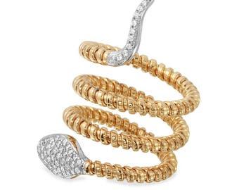 Snake Rings, Rings, Gold Snake rings, fine jewelry rings, 14k Gold Rings,Serpent Rings,Snake Jewelry,Diamond Snake Ring,Rose Gold snake ring
