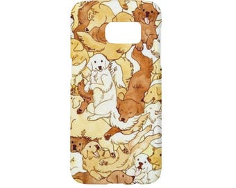 Dog Cute Case For Samsung Galaxy S8/S8plus Galaxy S7 Galaxy S6 Galaxy S5 Galaxy S4 Galaxy S3 Fit for Note 5 Note 4 Note 3 Note 2