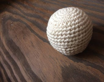 Organic Ball Undyed Color Grown Cotton Crochet - Baby Toddler Montessori