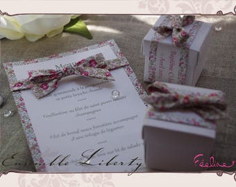 Liberty menu customizable wedding baptism