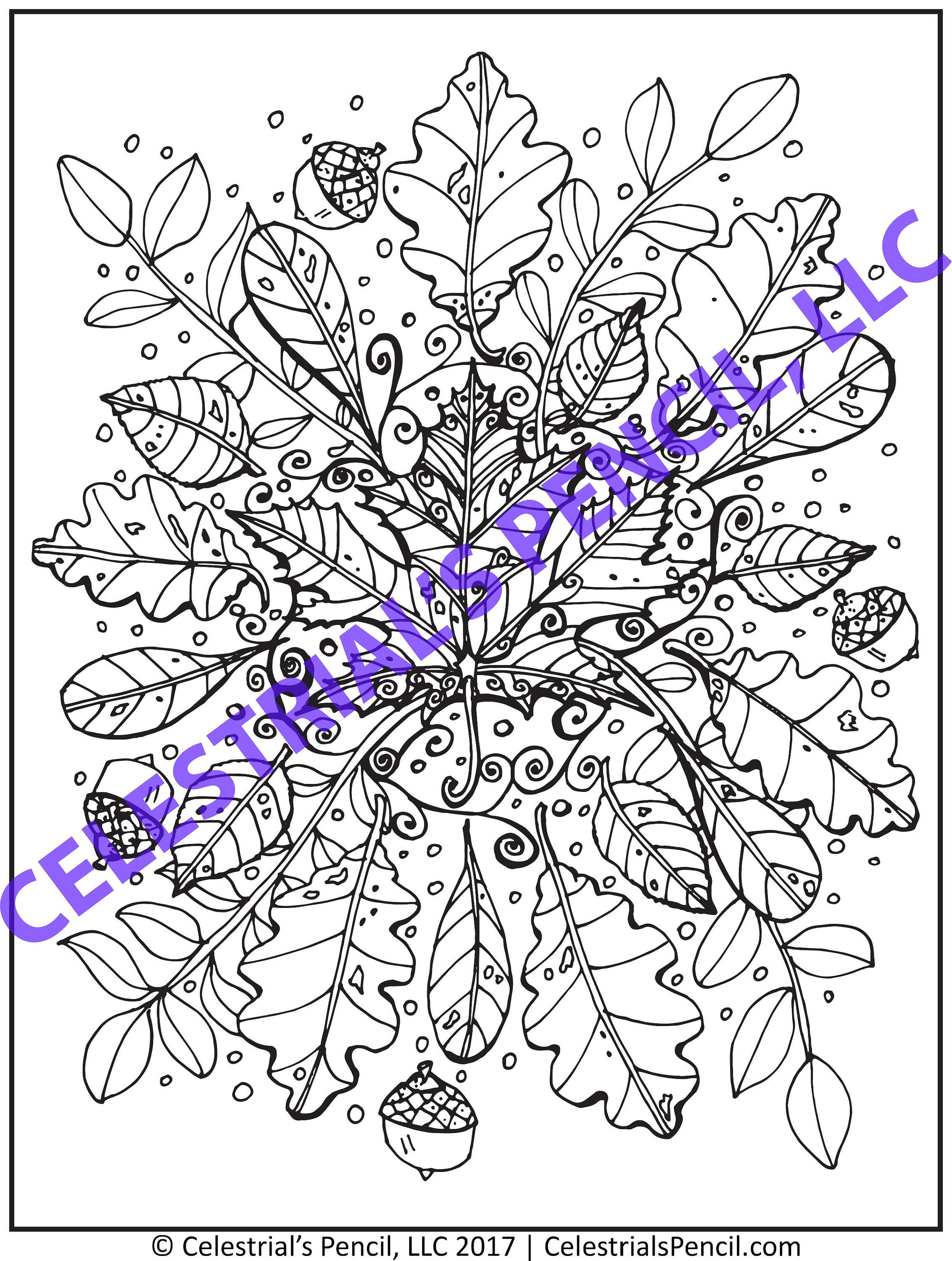 Celestrials Pencil Nature Package Coloring Pages PDF