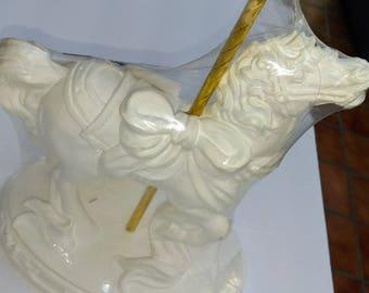 Unicorn Pottery Ready to Paint unfinished