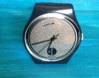 Vintage Swatch Watch. High Moon Swatch Watch.