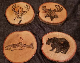 Woodland Birch Coasters