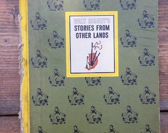 Walt Disney's Stories from other Lands vintage Hardcover book 1960's
