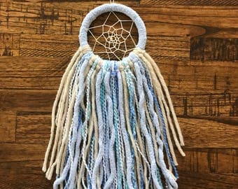 Mini Baby Blue Dream Catcher