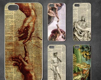Michelangelo iphone 7 case, iphone 7 plus case, iphone 6/6s , iphone 8 case, iphone 6 plus case, iphone x, 5/5s case, 5c case, 4/4s case