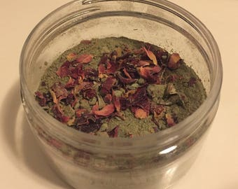 Clay Rose Face Mask