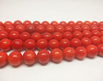 Red Beads Red Jade Beads Mashan Jade Beads Candy Jade Beads for Jewelry Making Braselet Beads Necklace Beads Beading Supply Mala Beads