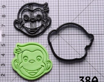 Curious George Cookie Cutter Curious George Fondant Cutter Curious George Birthday Gift Curious George Gift Curious George Party