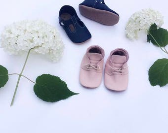 Blush Chukka Boot with cream laces