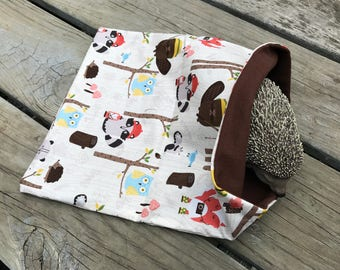Hedgehog Cotton Basic Sleeping Bag - Woodland Campers