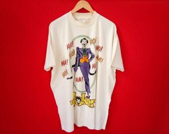 vintage The joker marvel comic mens t shirt