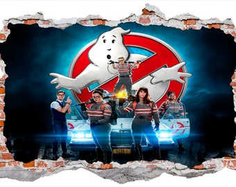 Ghostbusters Smashed Wall Sticker Wall Decals