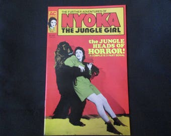 The Further Adventures of Nyoka: The Jungle Girl #2 Americomics 1988